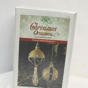 Christmas Ornament Kit of the Month Club  new